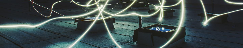 Imagen en las que aparece unos rayos de luz